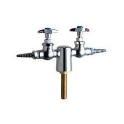 Chicago Faucets (981-WS937CHAGVCP) Turret with Two Needle Valves at 180ÌÎÌ_Ì´åÇÌÎå«ÌÎå