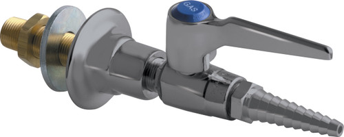Chicago Faucets (986-WSV909AGVSAM) Wall Flange with Single Ball Valve