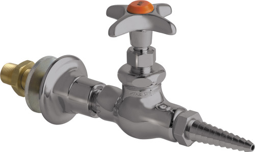 Chicago Faucets (986-WSV937CHAGVSAM) Wall Flange with Needle Valve