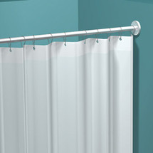 "ASI (10-1200-V36) Vinyl Shower Curtain, 36""W x 72""H"