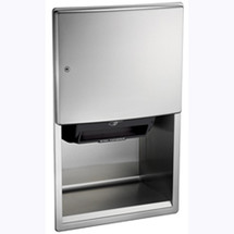 ASI (10-204523A-6) Roval Semi-Recessed Mounted Paper Towel Dispenser