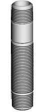 Chicago Faucets (982-104KJKRBF)  Shank Assembly, Male Thread