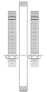 Chicago Faucets (1301-SB1KJKRBF) Shank Assembly
