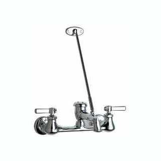 Chicago Faucets (540-LD897SCP) Hot and Cold Water Sink Faucet