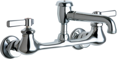 Chicago Faucets (540-LDL5VBCP) Hot and Cold Water Sink Faucet