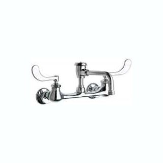 Chicago Faucets (631-L8BVBE2-2CP) Hot and Cold Water Sink Faucet