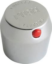 "Chicago Faucets (665-PSHJKCP) Vandal Proof 1-3/4"" MVP Metering Push Handle"