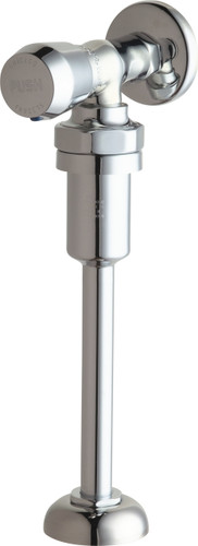 Chicago Faucets (732-VB665PSHCP) Angle Urinal Valve with Riser