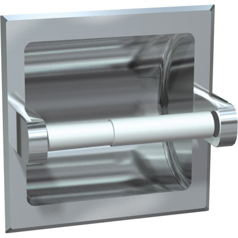 ASI (10-0402-Z) Recessed Toilet Papper Holder Chrome Plated Zamak
