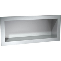"""ASI 5/"""" X 36/"""" COMMERCIAL BATHROOM SHELF STAINLESS STEEL  10-0692-536"""