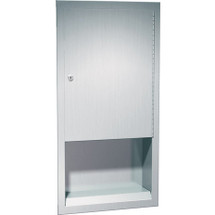 ASI (10-0452) Recessed Paper Towel Dispenser