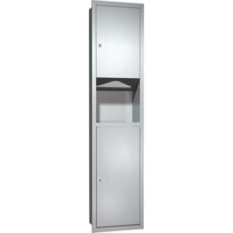 ASI (10-0467) Recessed Paper Towel Dispenser & Waste Receptacle