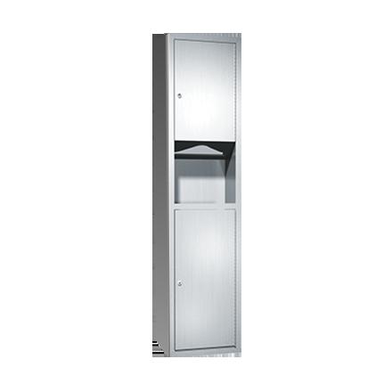 ASI (10-0467-9) Surface Mounted Paper Towel Dispenser & Waste Receptacle
