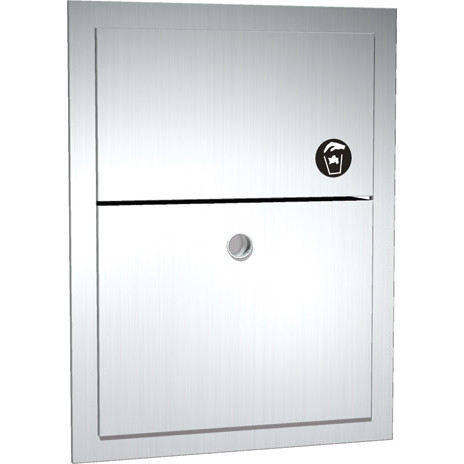 ASI (10-0473) Sanitary Napkin Disposal - Recessed