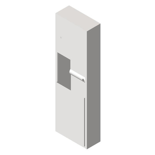 ASI (10-04697-4) Semi-Recessed Paper Towel Dispenser and Waste Receptacle