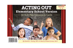 Acting Out Card Deck - Elementary Version