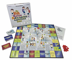 Stop Relax & Resolve Conflict Board Game