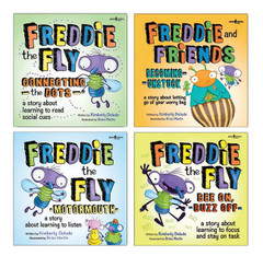 Freddie the Fly Series 4-Pack