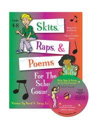 Skits, Raps, & Poems for the School Counselor with CD