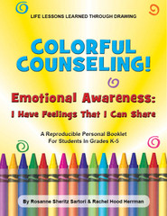 Colorful Counseling: Emotional Awareness-I Have Feelings That I Can Share (eLessons)
