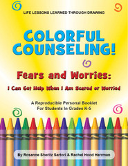 Colorful Counseling: Fear Worries-I Can Get Help When I Scared or Worried (eLessons)