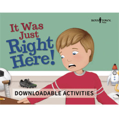 It Was Just Right Here! (Downloadable eActivities)