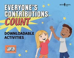Everyone's Contributions Count (Downloadable eActivities)