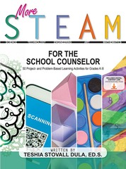 PRE-ORDER & SAVE!  More STEAM for the School Counselor