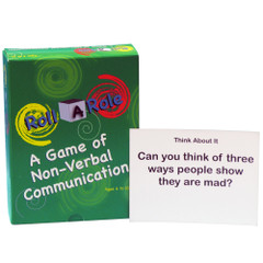 Roll-A-Role: Non Verbal Communication Game Cards