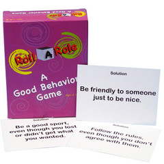 Roll-A-Role: Good Behavior Game Cards