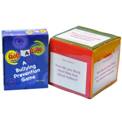 Roll-A-Role: Bullying Prevention Game Cards & 3 Cubes