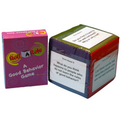 Roll-A-Role: Good Behavior Game Cards & 3 Cubes