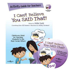 I Can't Believe You Said That! Activity Guide with CD