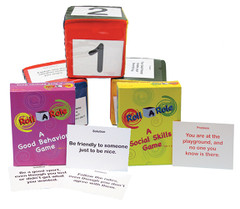 Roll-A-Role Cubes Behavior & Social Skills Set