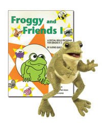 Froggy & Friends I with Frog Puppet