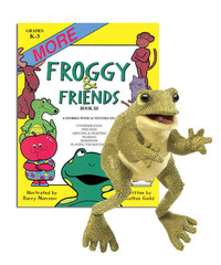 More Froggy & Friends with Frog Puppet