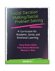Social Decision Making/ Social Problem Solving with CD: Grades K-1