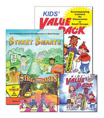 Kids Value Pack & Street Smarts Activity Books with Audio CDs