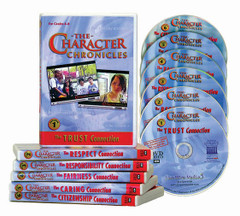 The Character Chronicles: Set of 6 DVDs