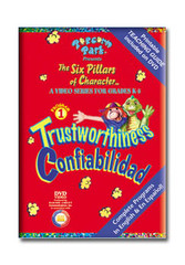Popcorn Park Presents the Six Pillars of Character: Trustworthiness DVD