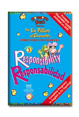 Popcorn Park Presents the Six Pillars of Character: Responsibility DVD