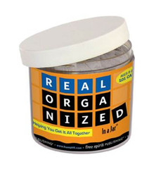 Real Organized In a Jar