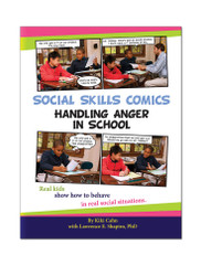 Social Skills Comics: Handling Anger in School with CD