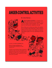 Anger-Control Activities for Grades 1-6