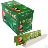 ZIG ZAG Green Cut Corners Papers - 100 Booklets
