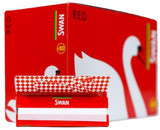 Swan Red Regular Rolling Papers - Box of 100