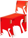 Swan Red King Size Slim Rolling Papers - Box of 50