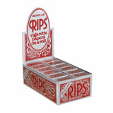 RIPS Red Regular Size Rolling Paper - 24 Pack