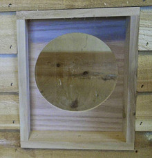UnderCover Pet Houses Round Door Insert for our outdoor cat houses for outside cats and feral cats
