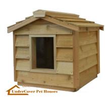 Small Insulated Cedar Cat House